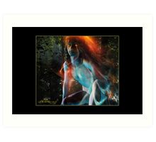 Born of Fire & Water (Reborn) Art Print