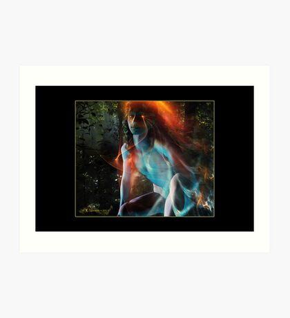 Born of Fire & Water (Reborn) Art Print