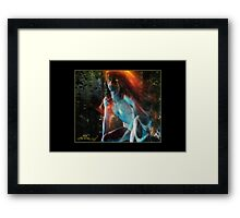 Born of Fire & Water (Reborn) Framed Print