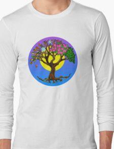 four seasons tree Long Sleeve T-Shirt
