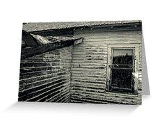 Abandoned Greeting Card