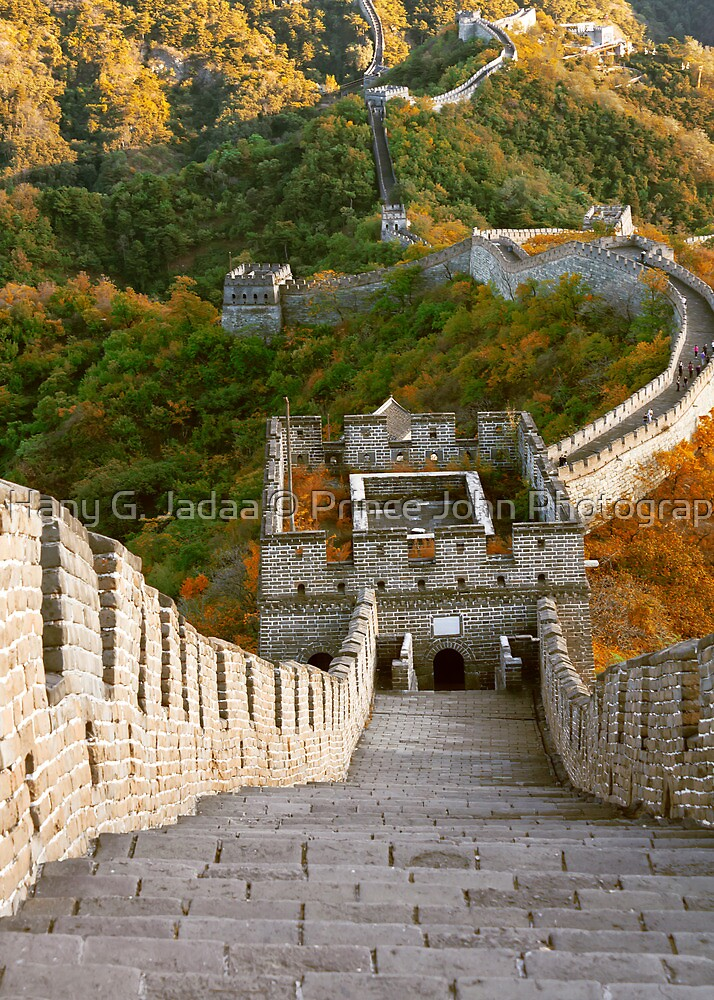 The Great Wall Series - at Mutianyu #10 by © Hany G. Jadaa © Prince John Photography