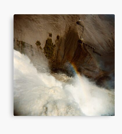 Holga falls Canvas Print
