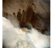 Holga falls Photographic Print