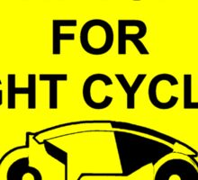 Watch For Light Cycles Sticker