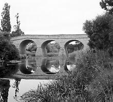 Summer, Richmond Bridge—Tasmania by Brett Rogers
