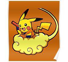 pikachu super saiyan Poster