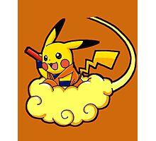 pikachu super saiyan Photographic Print