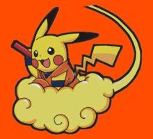 pikachu super saiyan by dissimulo