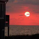 Hatteras Island Sunrise by Kent Nickell