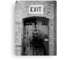 This Way Out Metal Print