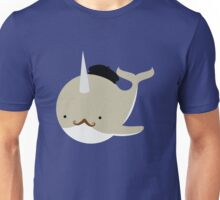 Dapper French Narwhal Unisex T-Shirt