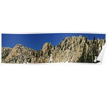 Wasatch Mountains, Cliffs near Red Pine Lake Poster