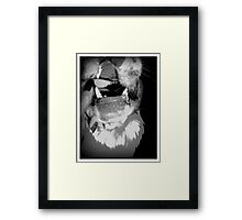 Wild Thing - Play with Fire Framed Print