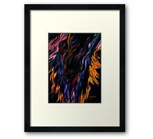 Earth, Wind and Fire.. Framed Print