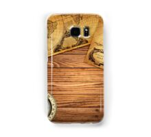 Compass and Map Samsung Galaxy Case/Skin