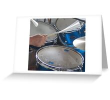 Billy's Drums Greeting Card