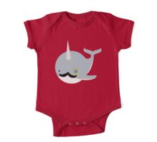 Sir Narwhal One Piece - Short Sleeve