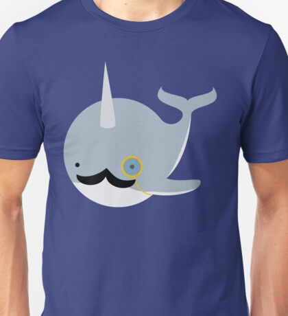 Sir Narwhal Unisex T-Shirt