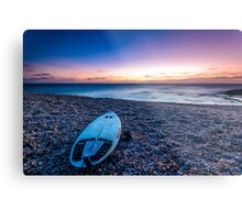 The Surfboard Metal Print