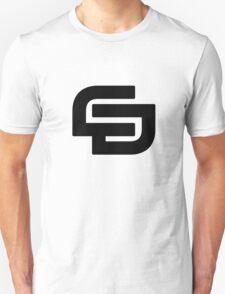 CD logo Black T-Shirt. T-Shirt