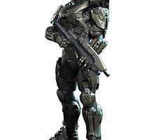 Halo - Master Chief (John 117) by Neiqo NR
