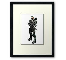 Halo - Master Chief (John 117) Framed Print