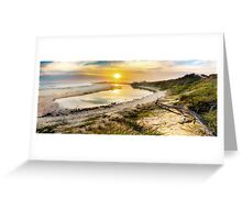 Saltwater logoon Greeting Card