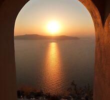 Santorini Sunset by missmrg