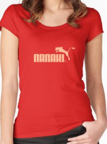Nanaki Sports Women's Fitted Scoop T-Shirt