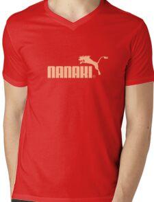 Nanaki Sports Mens V-Neck T-Shirt