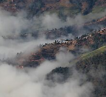Village in the Clouds by ikor
