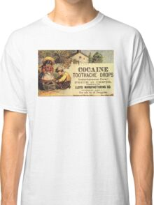 Cocaine Tooth Drops Classic T-Shirt