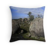 Granite Boulders Throw Pillow