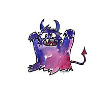 Funny Cartoon MonSTAR Monster 002 Photographic Print