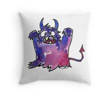 Funny Cartoon MonSTAR Monster 002 Throw Pillow