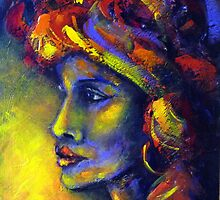 A touch of Africa by Ivana Pinaffo