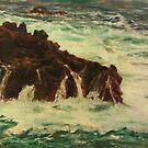 Crying Rocks  by E.E. Jacks