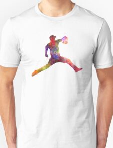 Baseball player throwing a ball T-Shirt