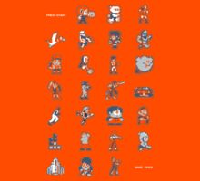 A - Z of 8-bit video games Kids Clothes