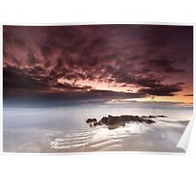 """""""Ripples in Time"""" ∞ Coolum, QLD - Australia Poster"""