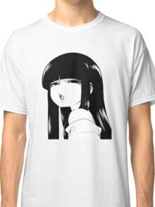 Black Haired Girl Classic T-Shirt