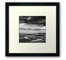 Gun Hill Marshes Framed Print