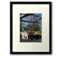 Rock Bare Winery, Hahndorf, Adelaide Hills Framed Print