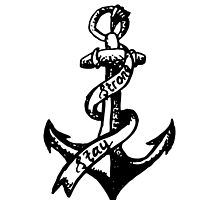 Stay Strong Anchor by Jennifer Vioniwinata