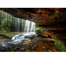 Under The Ledge Photographic Print