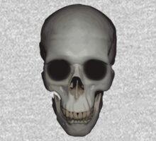 Human Skull Vector Isolated One Piece - Long Sleeve
