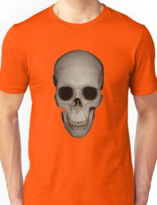 Human Skull Vector Isolated Unisex T-Shirt