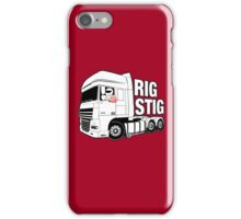 Top Gear - Rig Stig. The Stig's Lorry Driving Cousin iPhone Case/Skin