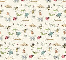 Insect Pattern by lhollyberry